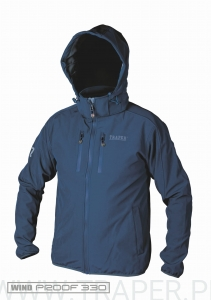 SOFTSHELL MONTANA DARK BLUE TRAPER
