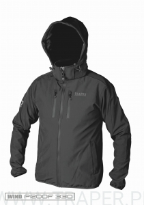 SOFTSHELL MONTANA DARK GREY TRAPER