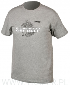 T-SHIRT REEL GREY TRAPER