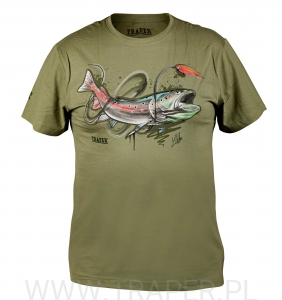 T-SHIRT HUCHO LIGHT KHAKI TRAPER