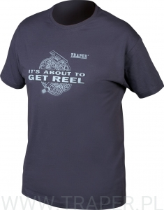 T-SHIRT REEL NAVY TRAPER